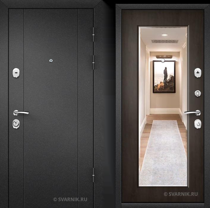 Дверь входная антивандальная в квартиру порошковая - винорит