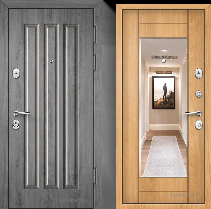 Дверь входная антивандальная в квартиру винорит - массив
