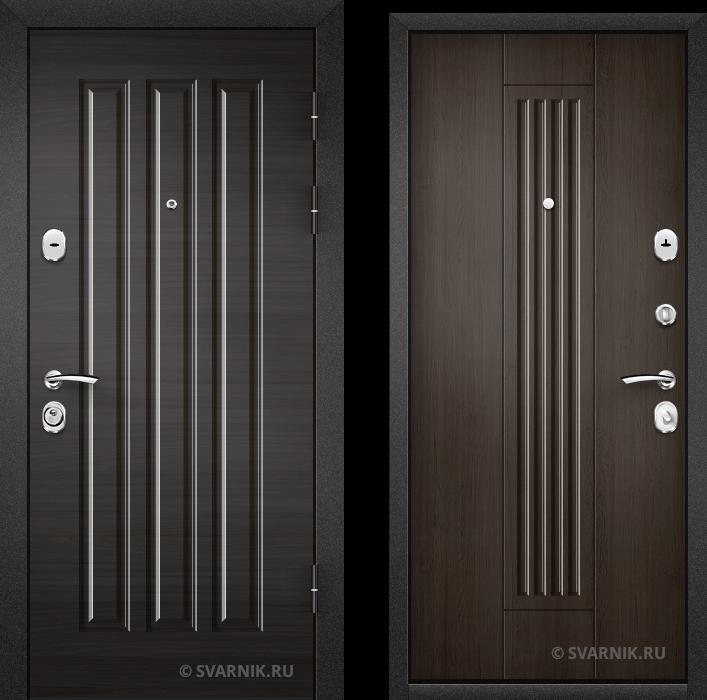 Дверь металлическая антивандальная в офис массив - массив