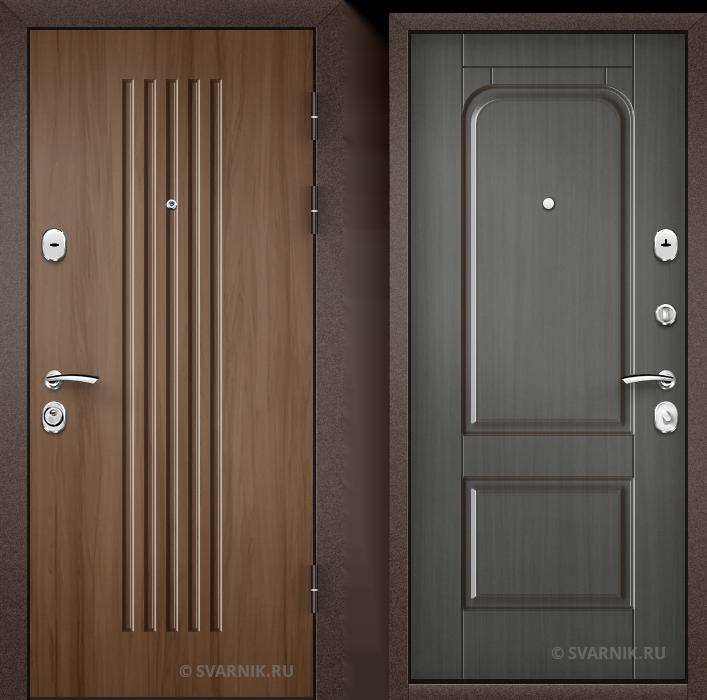 Дверь входная антивандальная в офис МДФ - МДФ