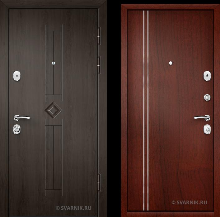 Дверь входная антивандальная в офис винорит - ламинат