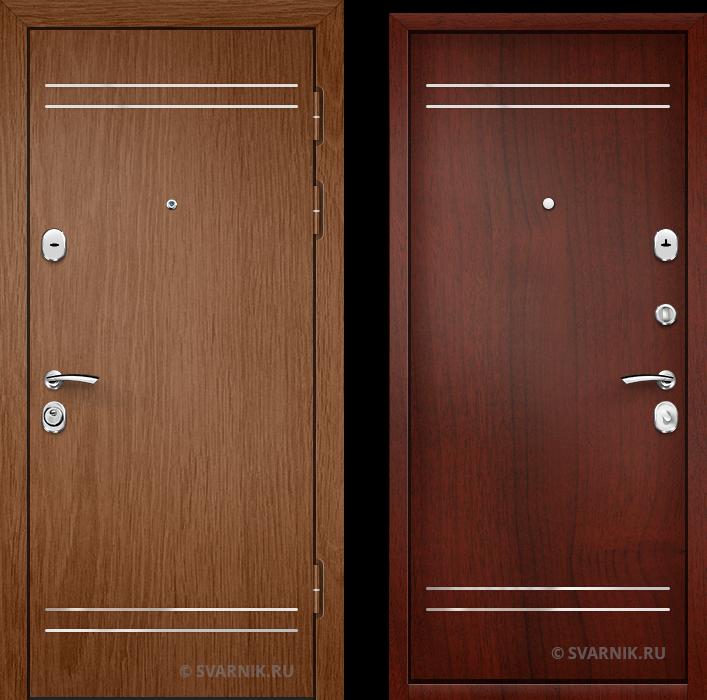 Дверь входная антивандальная в дом ламинат - ламинат