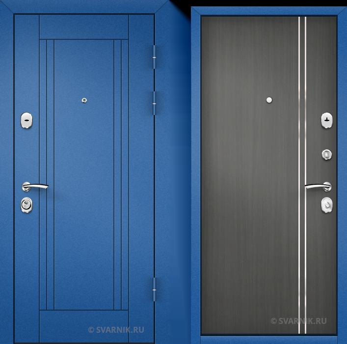 Дверь металлическая антивандальная в квартиру порошковая - массив