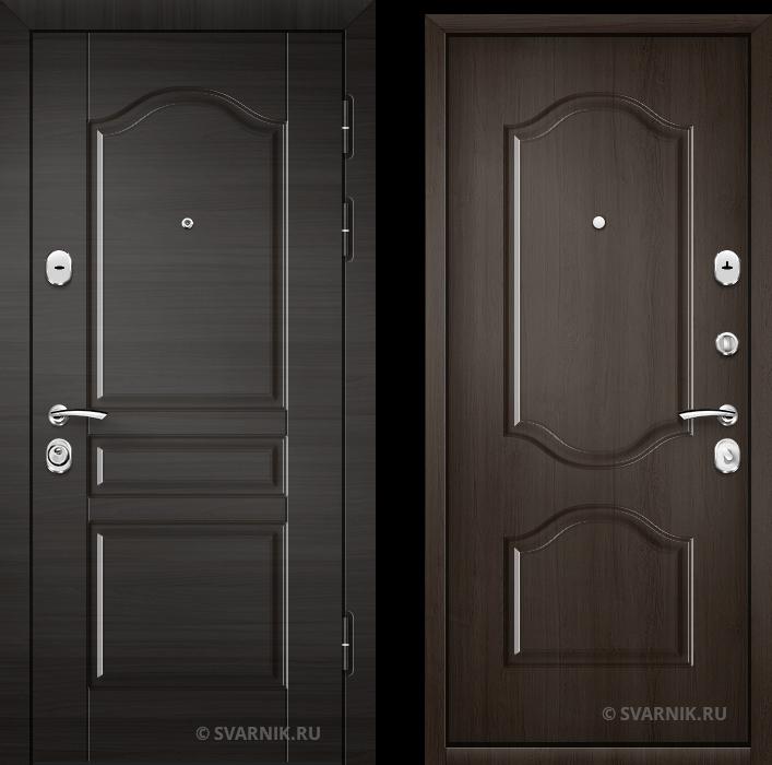 Дверь металлическая антивандальная в офис МДФ - массив