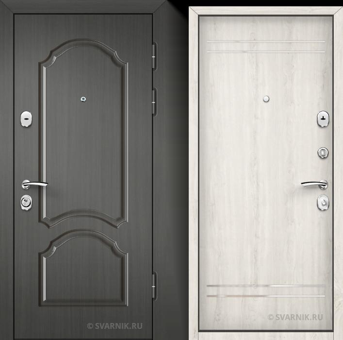 Дверь входная антивандальная в дом винорит - ламинат