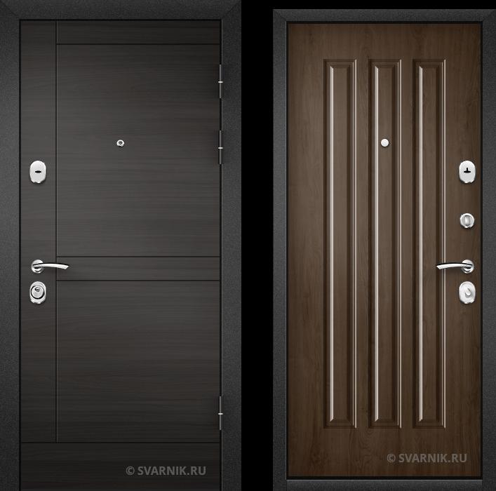 Дверь металлическая антивандальная в коттедж винорит - винорит