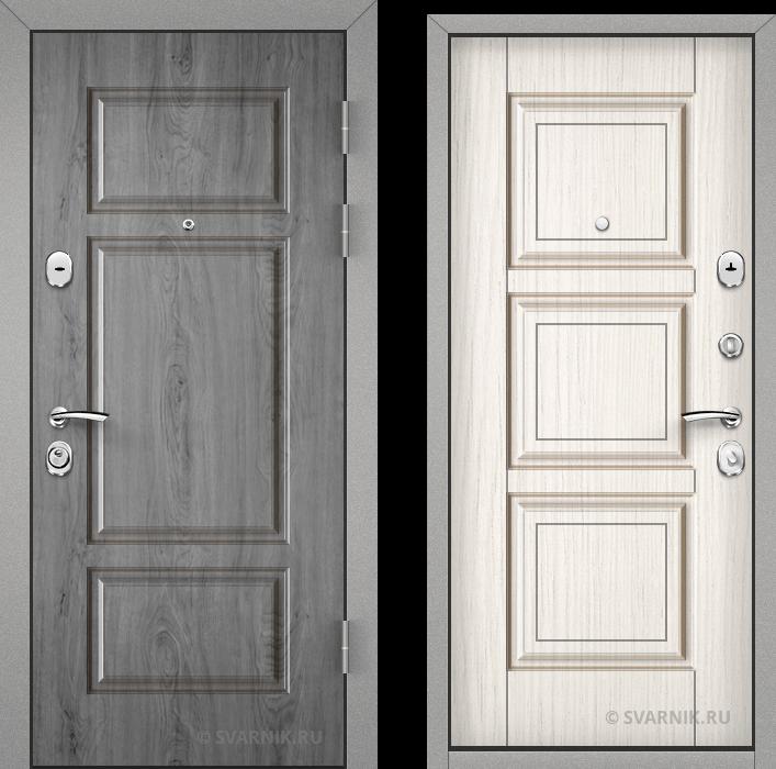 Дверь входная антивандальная в офис винорит - массив
