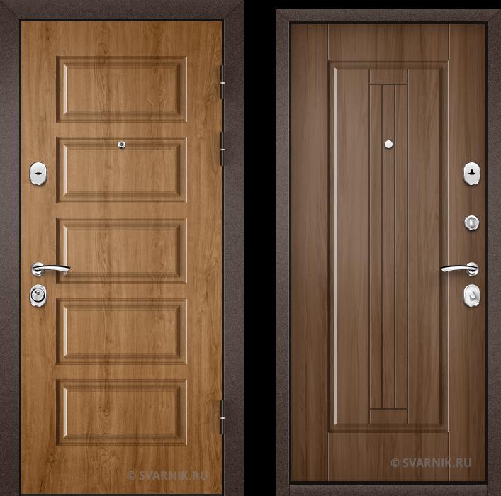 Дверь входная антивандальная в дом МДФ - МДФ